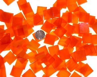 Bright Sunset Orange Mosaic Tiles