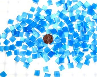 "Bright Blue Mosaic Tile ""Tropical Azure"""