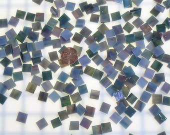 Teal Rose Mosaic Tile