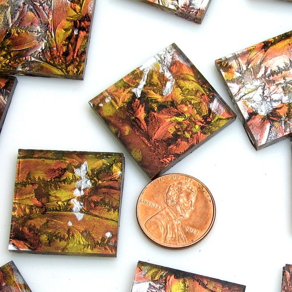 Free Shipping Copper Gold Silver VG89SI Van Gogh Glass