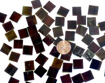 "Brown Mosaic Tile ""Dark Mahogany"""