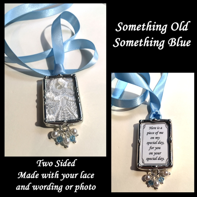 Bridal Bouquet Charm Heirloom Wedding Accessory Using Your image 0