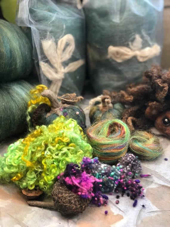 Strange Brew Speciality Fiber Needle Felting Fall Halloween Supply