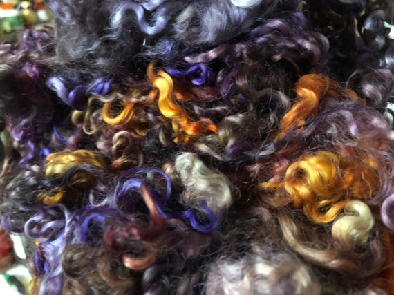 Dyed Teewater Locks Purple Hazel