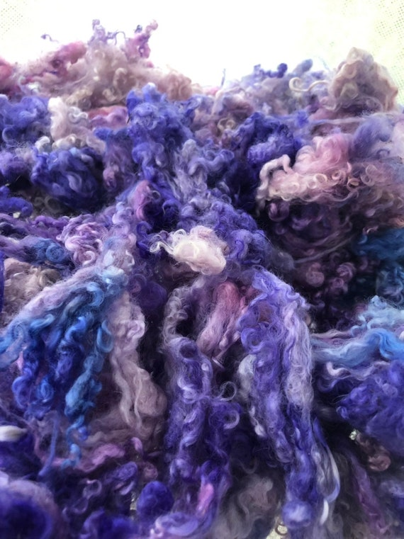Little Lavender Locks Felting 2oz