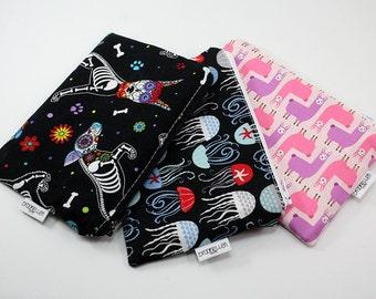 Snack Bag Reusable Baggie You Pick the Fabric Custom