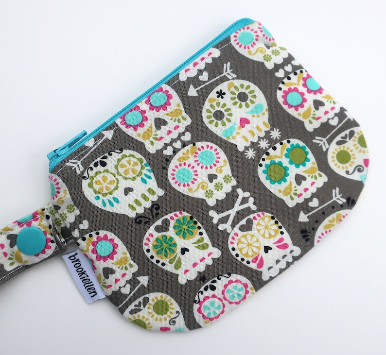 Roller Derby Waterproof Mouth Guard Case Retainer Case Paisley image 0