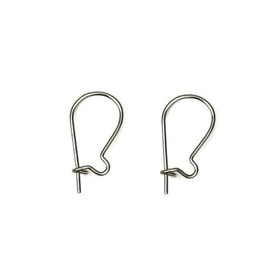 500 Stainless Steel Ear Hooks Hypo-allergenic Surgical Grade Steel USA Made