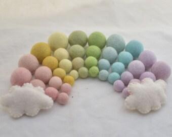 Lavender Oriental Direct based in West Yorkshire 100/% Wool Felt Balls 1.5cm 25 Felt Balls