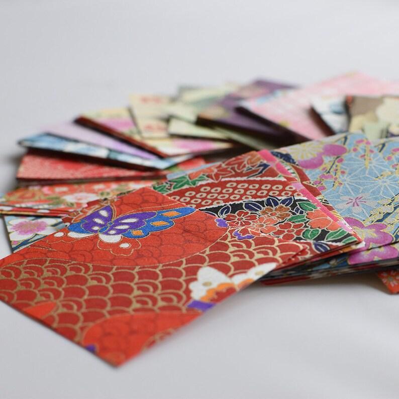 Japanese Finest Yuzen Washi Origami Paper  200 Sheets image 0