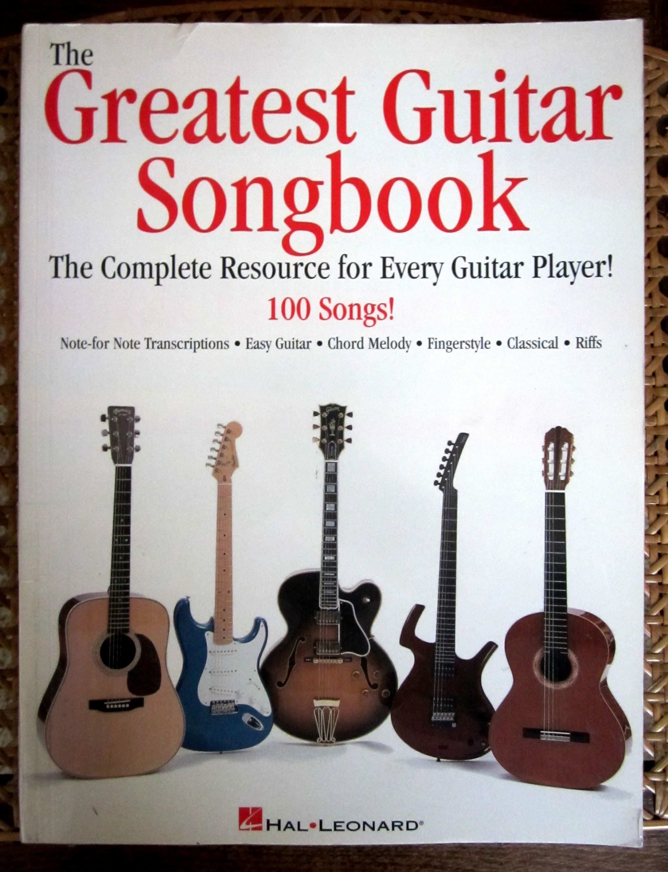 The Greatest Guitar Songbook Guitar Tablature Lyrics Etsy