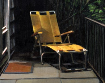 Night Lounger - limited edition archival print