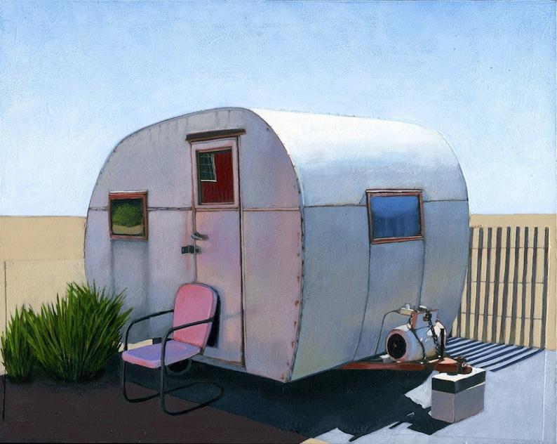 Desert Camper  limited edition archival print 56/100 image 0