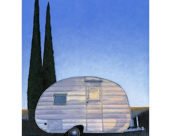 Morongo Valley Camper - limited edition archival print