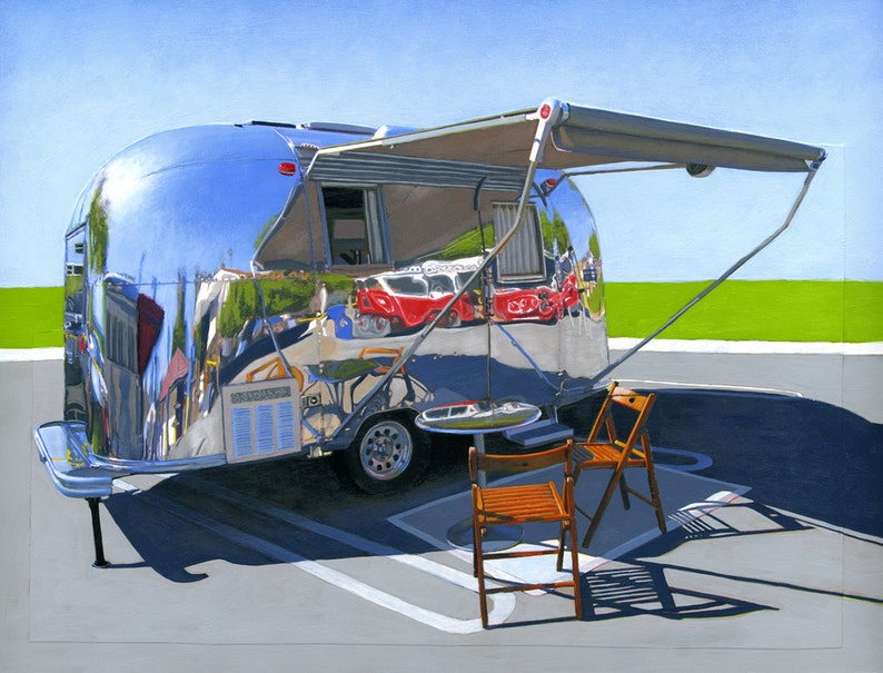 Palm Springs Airstream  limited edition archival print 46/100 image 0