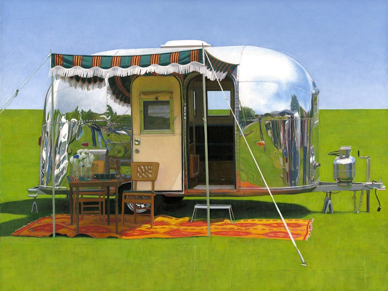 63 Airstream Bambi  limited edition archival print 32/100 image 0