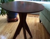 Custom Round Table, Cherry