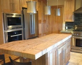 Custom Butcher Block Island