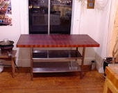 Sapele End Grain Butcher Block Top