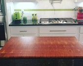 Cherry End Grain Butcher Block Top