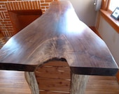 Walnut Slab Counter Top