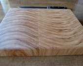 Sine Wave-Hickory End Grain Chopping Board