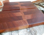 Sapele End Grain Chopping Block