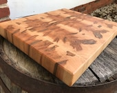 Ambrosia Red Maple End Grain
