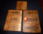 Large Stock Spalted Maple End Grain Chopping Block