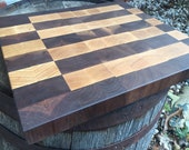 SECOND (discounted) Patchwork Butcher Block