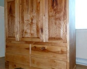 Custom Birch Armoire