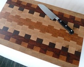 Patchwork End Grain Chopping Block
