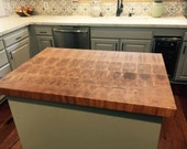 Curly Maple End Grain Island Top