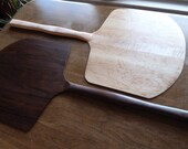 Hand Crafted Pizza Peels in Walnut, or Any Wood You Wish
