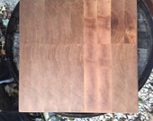 End Grain Maple Chopping Block