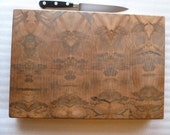 Ambrosia Spalted Maple End Grain Custom Chopping Block