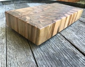 End Grain Spalted Red Maple