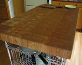 Butcher Block Island Top