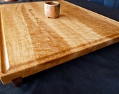 Tea Tray from Birdseye Maple and Bloodwood