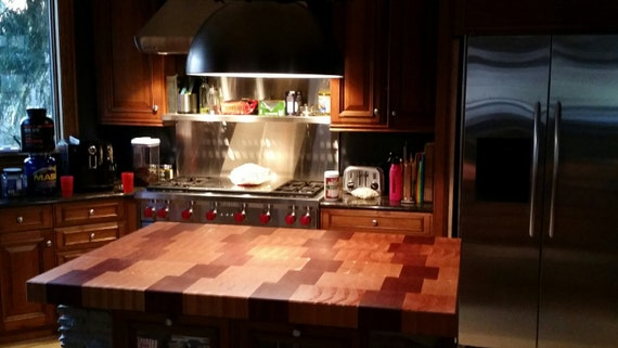 wood butcher block countertops floor decor.htm jatoba cherry butcher block island etsy  jatoba cherry butcher block island etsy