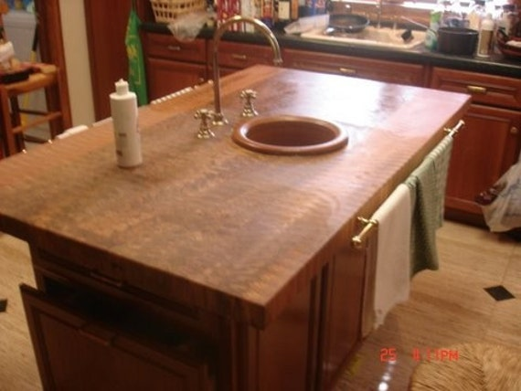 wood butcher block countertops floor decor.htm butcher block island top etsy  butcher block island top etsy