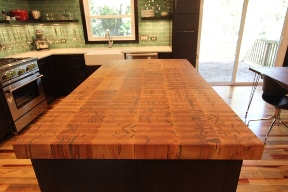 wood butcher block countertops floor decor.htm ambrosia butcher block island thick one etsy  ambrosia butcher block island thick one