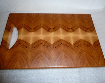 End Grain Hickory With Handle