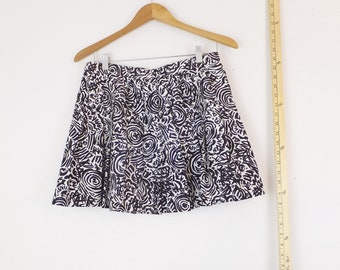 90s Mom Shorts Vintage Womens Size 12 Shorts Large Soft Pastel 90s Pattern Minimalist Aesthetic Pleated Shorts 90/'s Vintage Shorts Tag On