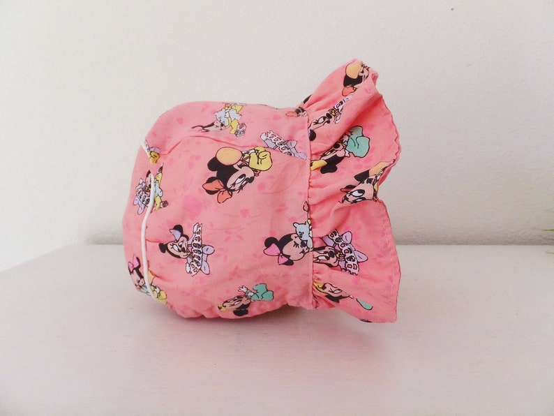 Pink Minnie Mouse Baby Bonnet Baby Girls Hat Baby Minnie Mouse  97e756c3bfb