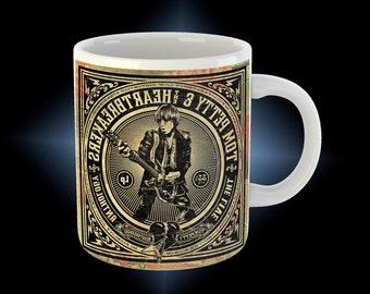 Tom petty   coffee mug cup with coaster