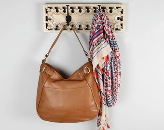 Leather Handbag Hobo Purse Tote, Tan