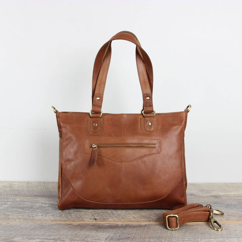 c0785f8632 Leather Shoulder Bag Tan Leather Purse Leather Work Bag Tan