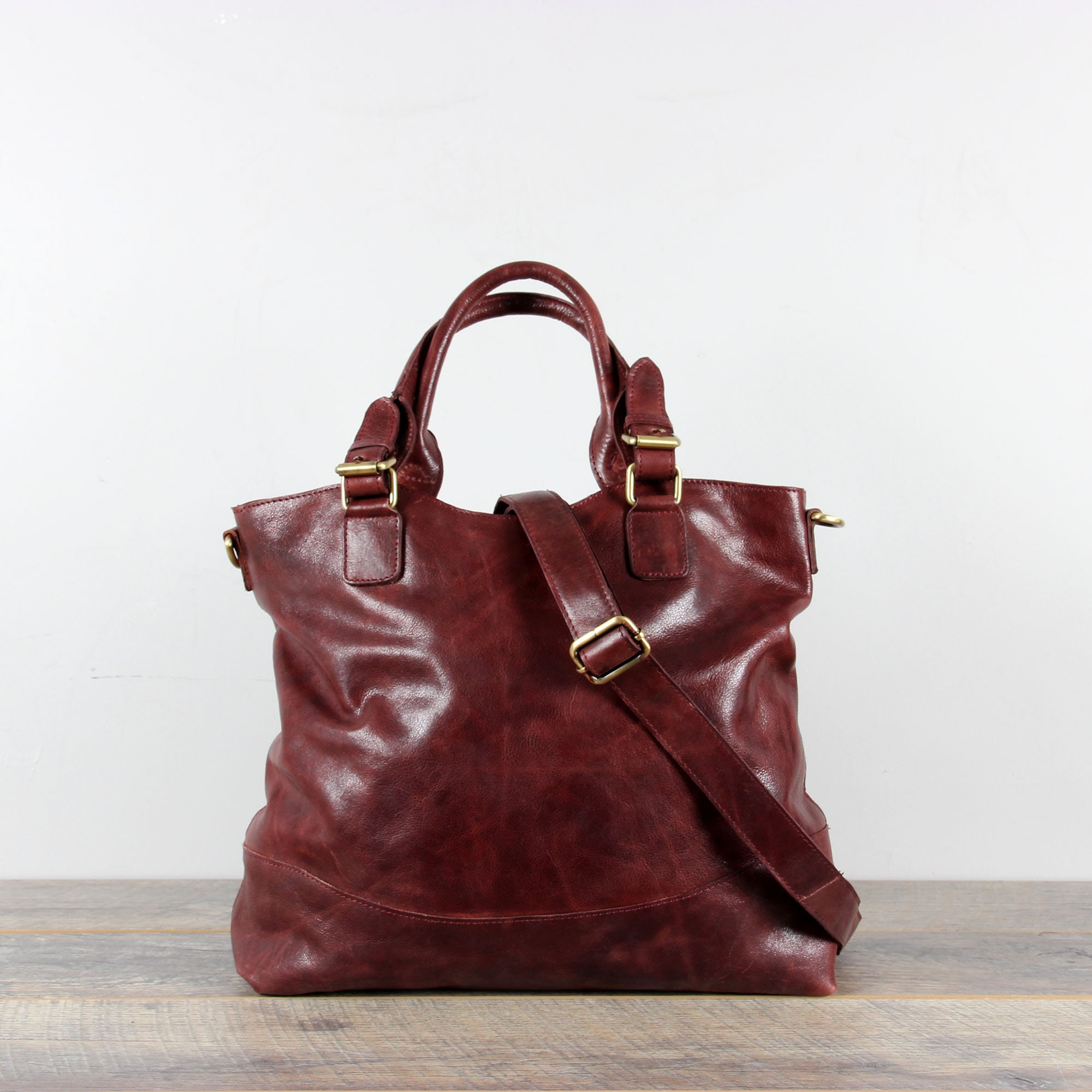 57986e47fe81 Leather Tote Leather Handbag Brown Distressed Leather Purse