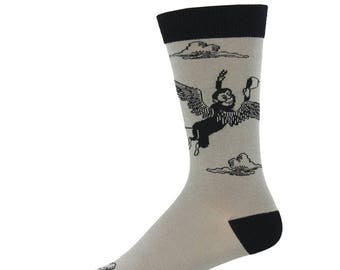 Wizard of Oz Flying Monkey Mens Socks